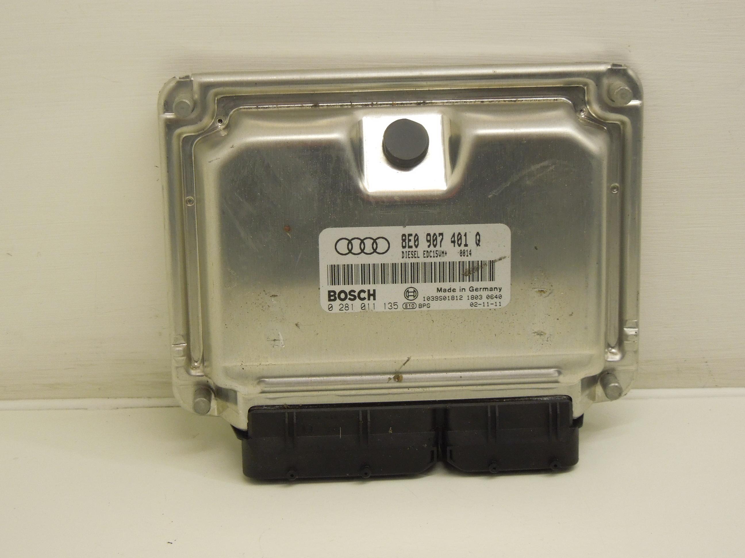 AUDI A6 V6 TDI BDG moteur unité de contrôle ECU 8E0907401T
