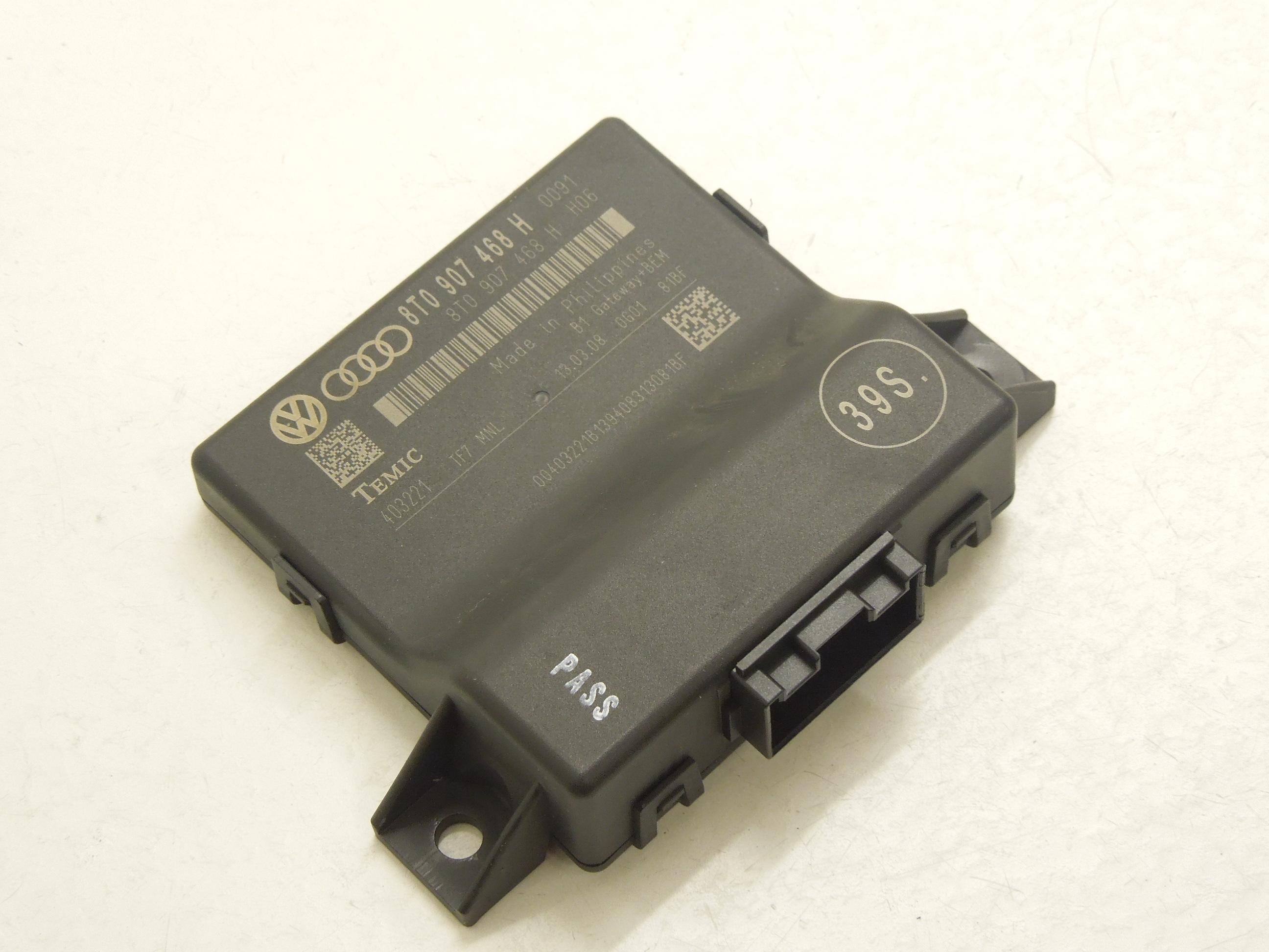 A5 8T DIAGNOSIS GATEWAY INTERFACE MODULE ECU 8T0907468AB 2010-2011 AUDI A4 B8