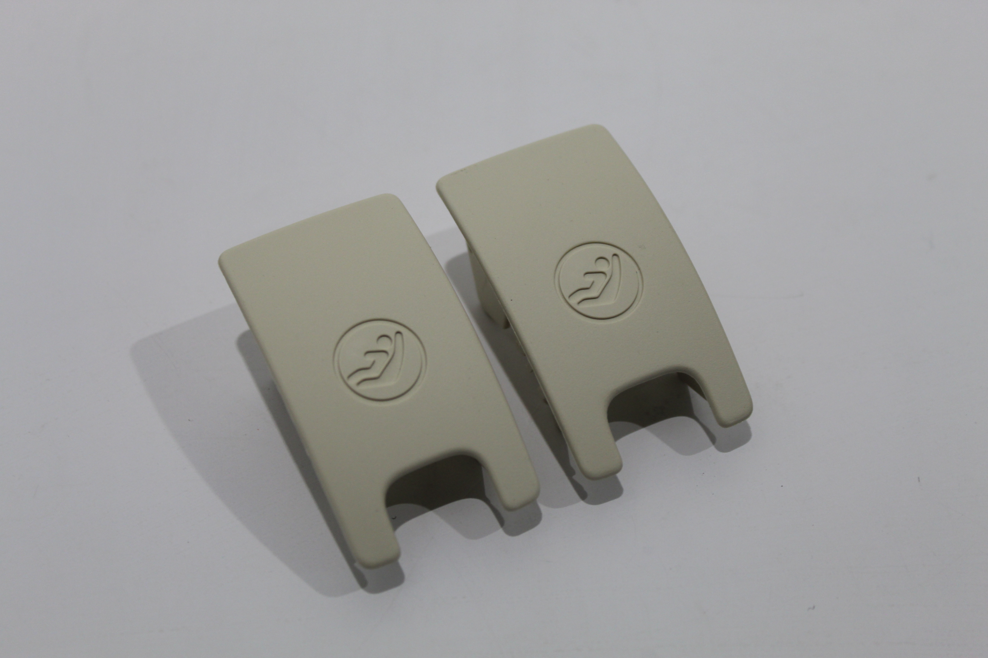Audi A7 4g A6 C7 Pair Isofix Slot Trim Covers Alabaster White New 4g88871879a6 Ebay